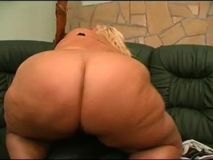 Fat busty blond lesbians playing with toys