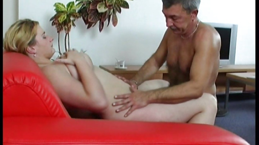 Old guy shafts a young BBW