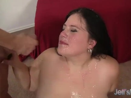 BBW Becki Butterfly with 5 guys