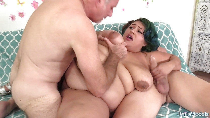 BBW Shows Off Her Fat Body