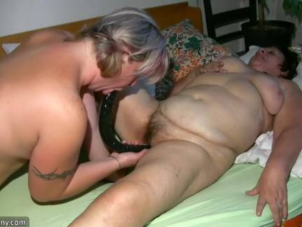 OldNanny Old Grannie and BBW Mature with guy