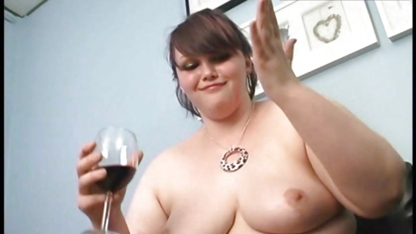 BBW and red wine You know what happenes after to that